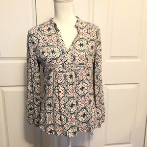 Ann Taylor Loft Boho Adorable Top